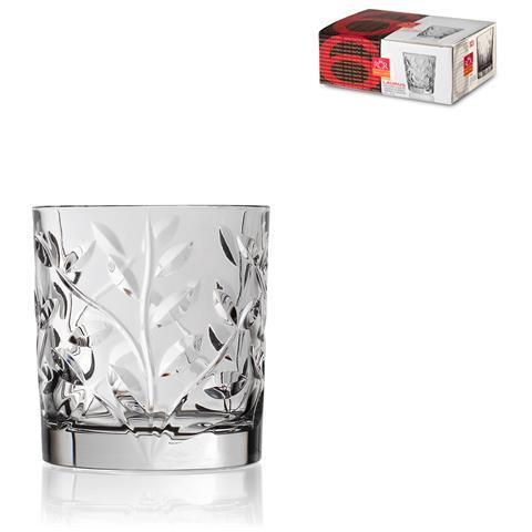 Confezione 6 Bicchieri Vetro Laurus Liquore cl 6