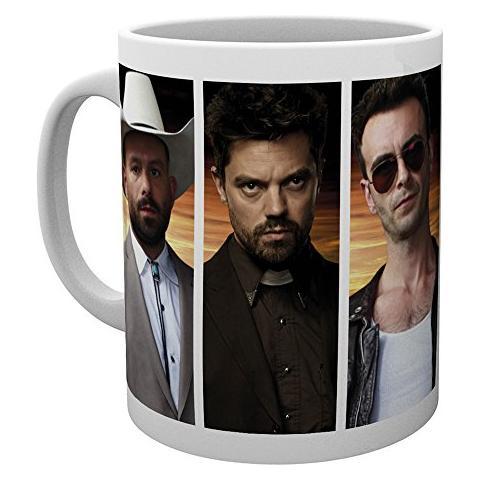 Tazza Preacher Mug Characters