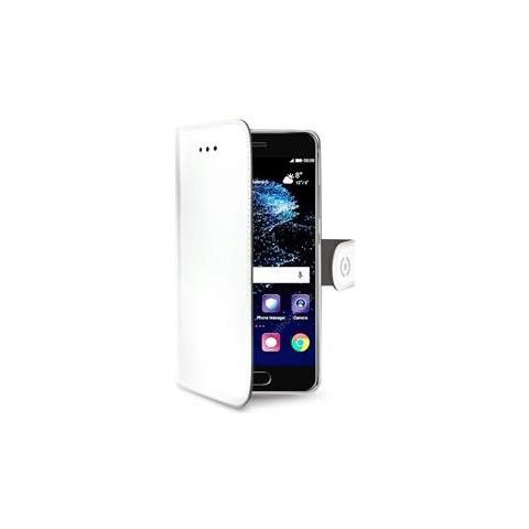 CELLY Custodia a Portafoglio per Huawei P10 Plus Colore Bianco