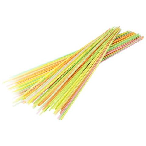 Cannucce Extra Lunghe Cm 100 Colorate 100 Pz Attrezzatura Barman Bartender Rs9303