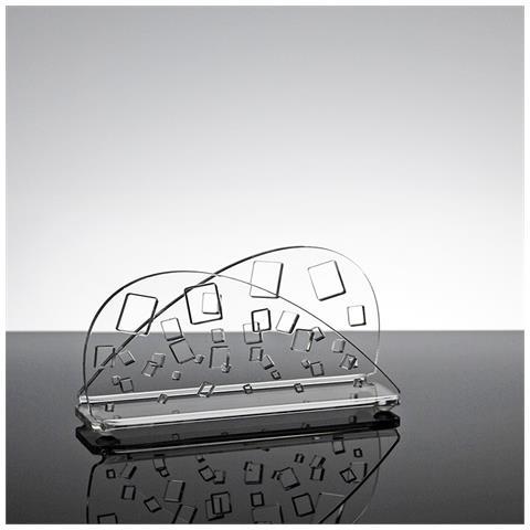 Portatovaglioli Porta Tovaglioli Da Tavolo Design Moderno In Plexiglass Trasparente Linus