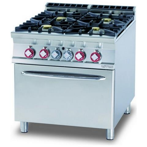 Cucina A Gas Professionale Afp / Cf4-98g