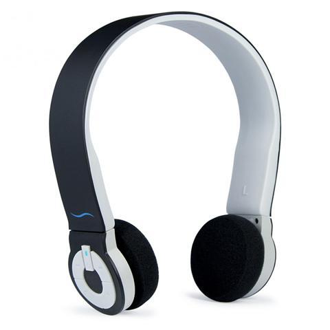 Hi-Fun Cuffie ad Archetto Hi-Edo Bluetooth colore Nero / Grigio