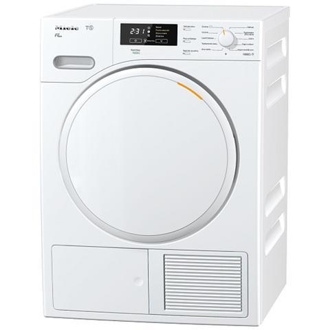 MIELE Asciugatrice TMB340WP-LW Perfect Dry, 8 Kg Classe A+ a Condensazione con Pompa di Calore
