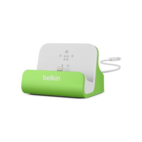 BELKIN Lightning sinc / ric. Dock iPhone 6/5/5s verde F8J045BTGRN