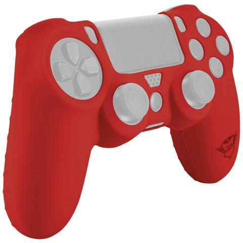 TRUST GXT 744R Rubber Skin rivestimento in silicone per Gamepad e protegge dai graffi colore Rosso