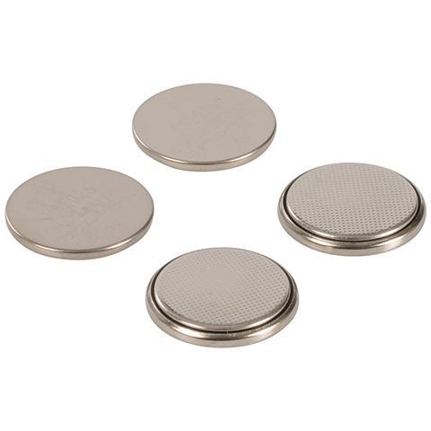 pmaster 458775 Batterie A Bottone Al Litio Cr2025 4 P. zi 4 P. zi
