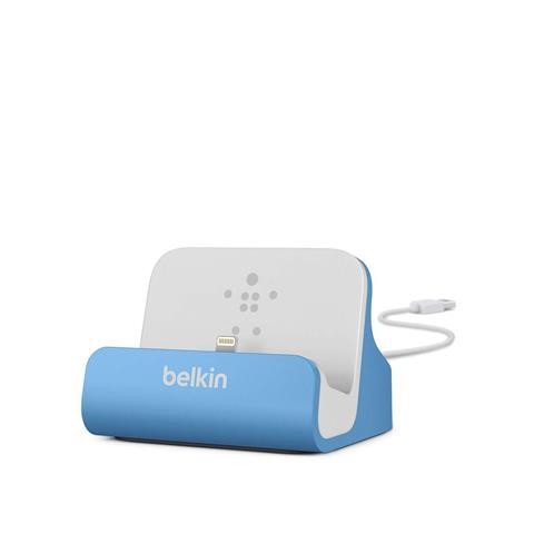 BELKIN Lightning sinc / ric. Dock iPhone 6/5/5s blu F8J045BTBLU