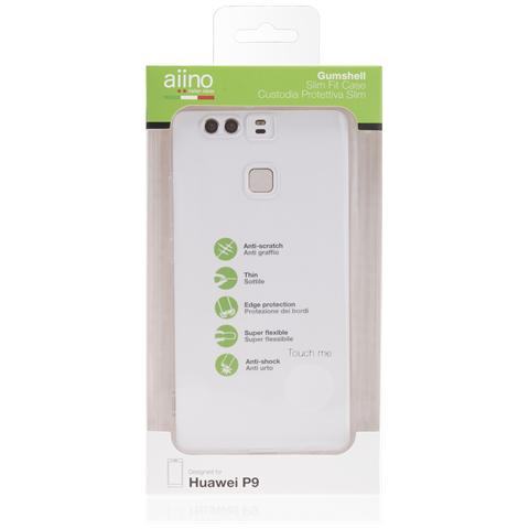 AIINO Custodia Gumshell per Huawei P9 - Clear