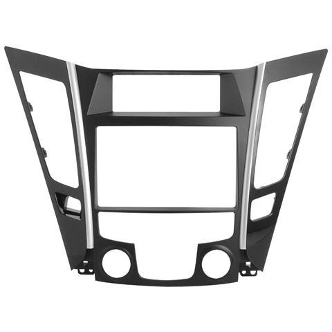 Phonocar Adattatore autoradio 03588 Mascherina 2DIN-ISO nero Sonata