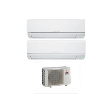 Condizionatore Fisso Dualsplit KITDUAL9+9DM MSZ-DM Potenza 9000+9000 BTU / H Classe A++ / A+ Inverter – Recensioni e opinioni