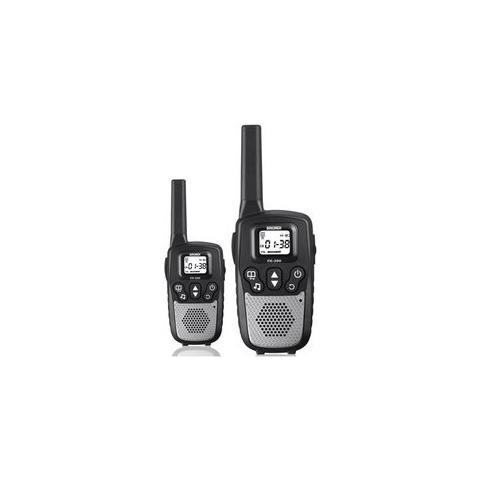 BRONDI Fx390-ricetrasmittenti -walkie Talkie 8canali Portata10km 446mhz Nero