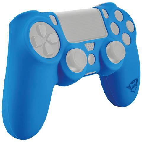 TRUST GXT 744B Rubber Skin rivestimento in silicone per Gamepad e protegge dai graffi colore Blu