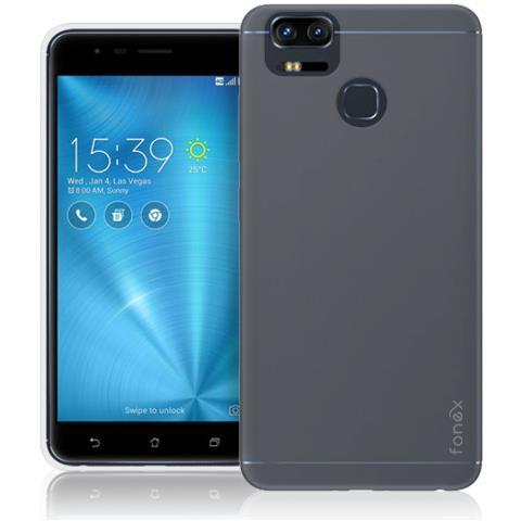 FONEX Inv Cover Ultra Sottile 0,2 mm in Morbido TPU per Asus ZenFone Live (ZB501KL) Colore Trasparente