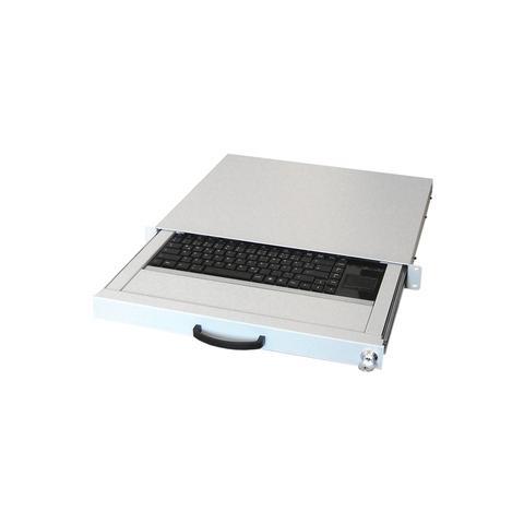 Image of AIX-19K1UKDETP-W, USB+PS / 2, QWERTZ, Standard, Bianco, 2m, USB