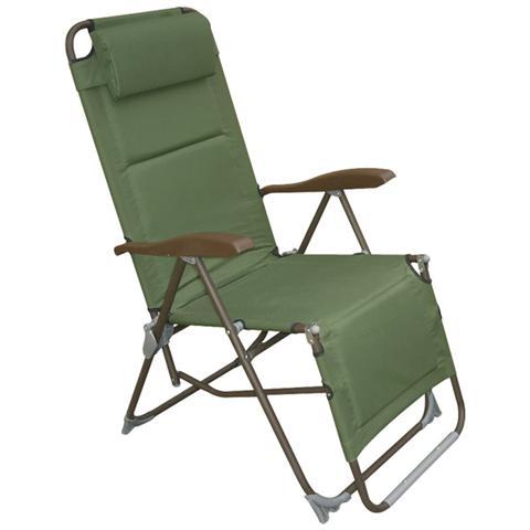 Sedie A Sdraio Per Spiaggia.Homegarden Sedia Sdraio Per Spiaggia Tessuto Verde In Pvc