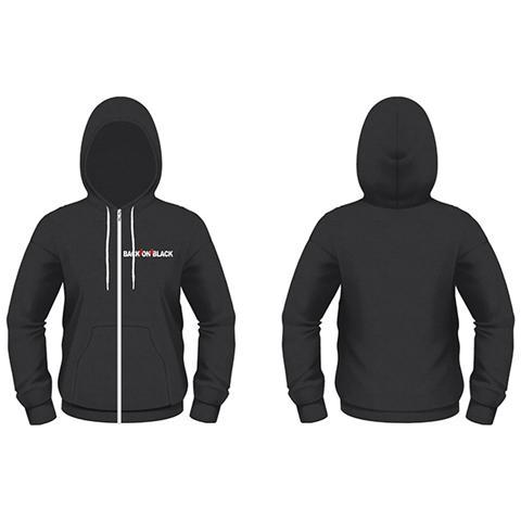 PHM Back On Black - Logo (Felpa Con Cappuccio Unisex Tg. M)