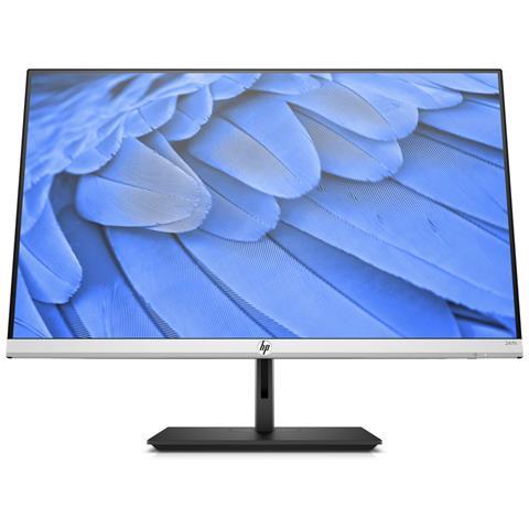 Image of Monitor 24FH 24'', Tecnologia AMD FREESYNC, Display IPS Full HD, Risoluzione 1920 x 1080, Supporto Monitor Inclinabile e Altezza Regolabile, Argento