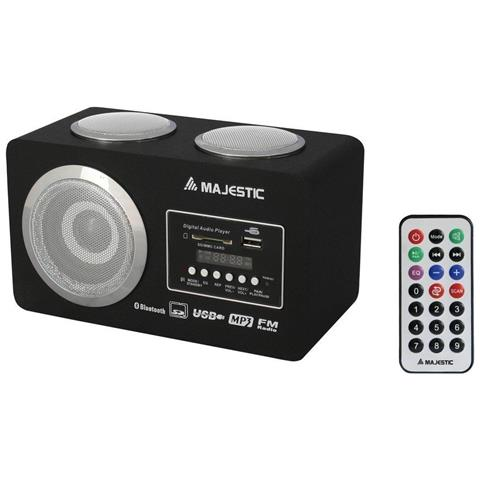 MAJESTIC Radio e Sistema audio multimediale con funzione Bluetooth BT-273 USB SD