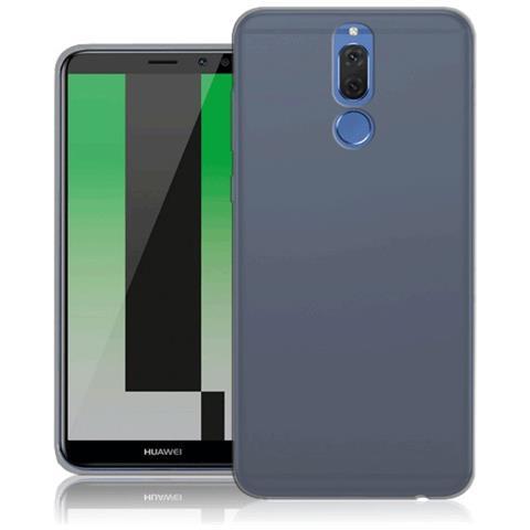 FONEX Cover per Huawei Mate 10 Lite Colore Nero / Trasparente