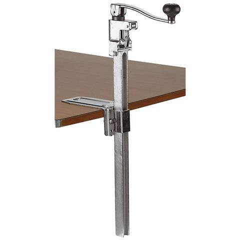 Apriscatole Da Banco Asta Cm 56 Alluminio Pressofuso / acciaio