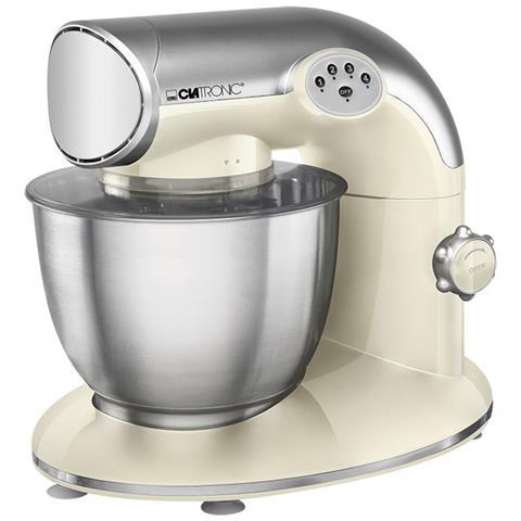 Mixer Da Tavolo 1200 W Crema E Argentato Km 3632