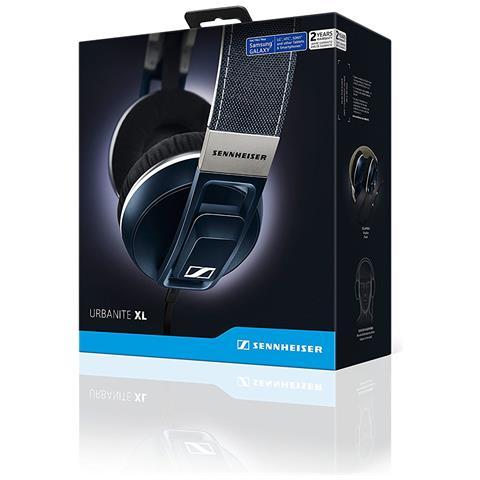 SENNHEISER Cuffie con Microfono Cablato Urbanite XL Colore Blu