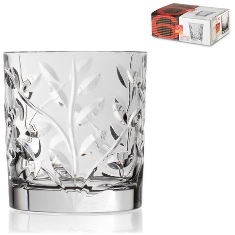 Confezione 6 Bicchieri Vetro Laurus cl 33