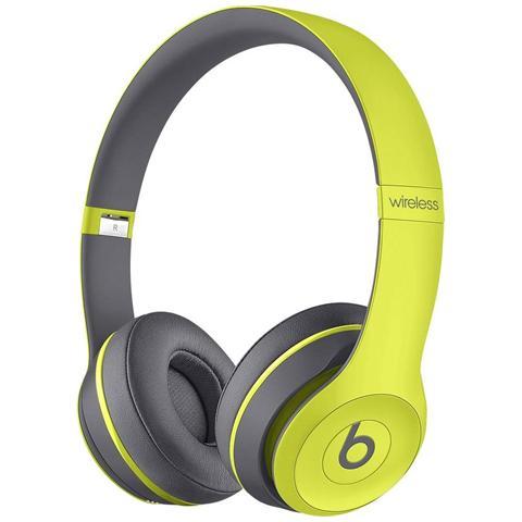 BEATS BY DRE Solo 2.0 Wireless Cuffie On-Ear Con Control Talk colore Giallo Active