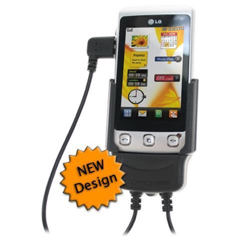 Carcomm CMPC-502 Auto Active holder Nero supporto per personal communication