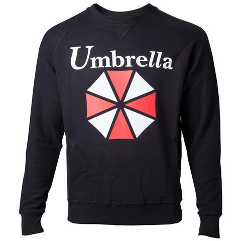 BIOWORLD Resident Evil - Umbrella Logo High Density Black (Felpa Unisex Tg. L)
