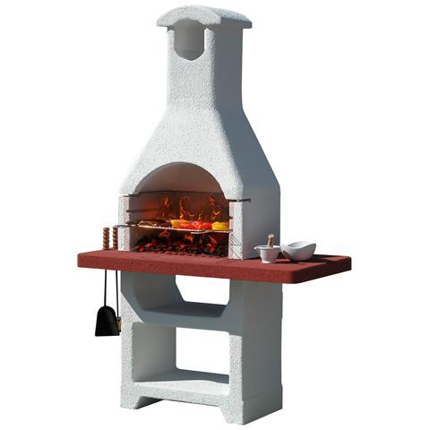 Barbecue In Muratura Mod. martinica Lx
