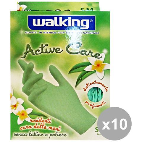Walking Set 10 X 40 Active Care S-m Nitrile - Giardinaggio