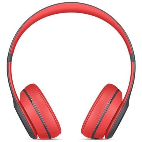 BEATS BY DRE Cuffie Wireless con Microfono Solo 2 Colore Grigio Rosso