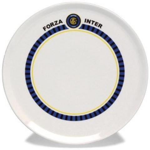 Piatto Pizza Inter Unica Bianco