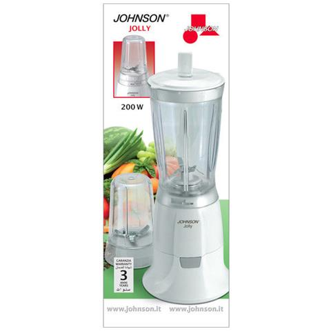 Jolly Frullatore Elettrico Con Dispositivo Macina Caffe Caffè 200w