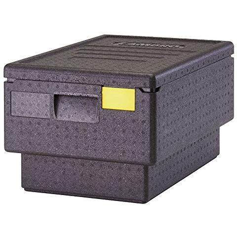 Cam Gobox - Contenitore Isotermico Epp, Colore Nero, 60 X 41 X 32 Cm Made In Germany