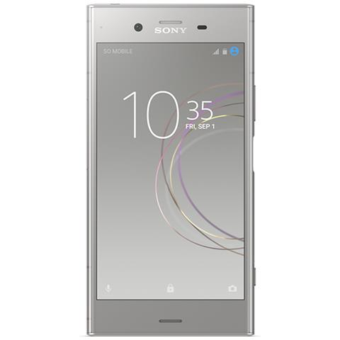 "SONY Xperia XZ1 Argento 64 GB 4G/LTE Display 5.2"" Full HD Slot Micro SD Fotocamera 19 Mpx Android Europa"