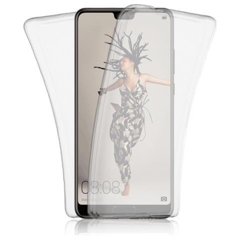 FONEX Custodia Tpu Front+Back Specter Per Huawei P20 Trasparente