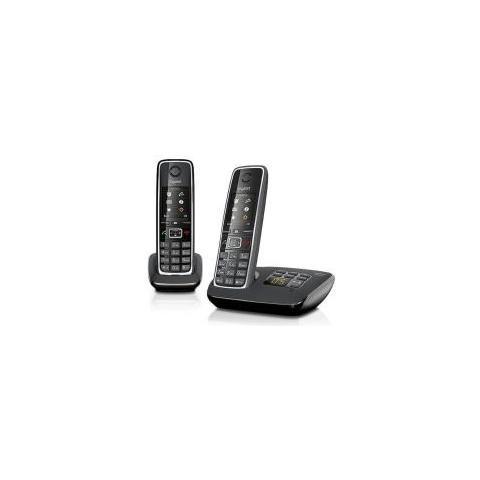 Gigaset C530 A Cordless Duo con display a colori e segreteria telefonica