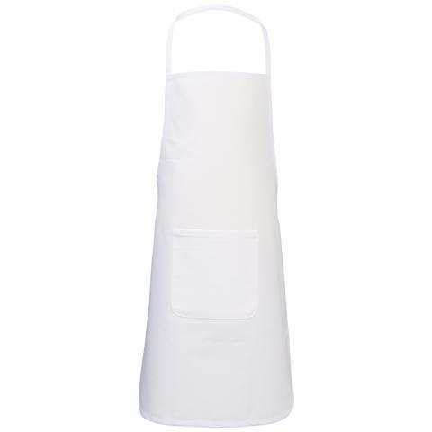 Giada Grembiule Per Bambini (40 X 60 Cm) (bianco)