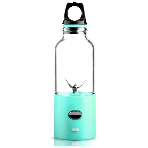 500 Ml Succo Di Bottiglia Centrifuga Elettrica Del Miscelatore Per L'ufficio Scolastico Blu