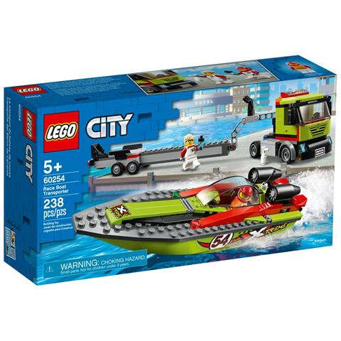 LEGO City - Trasportatore di Motoscafi