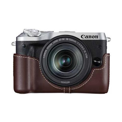 Caso per Fotocamera EOS M6 Colore Marrone
