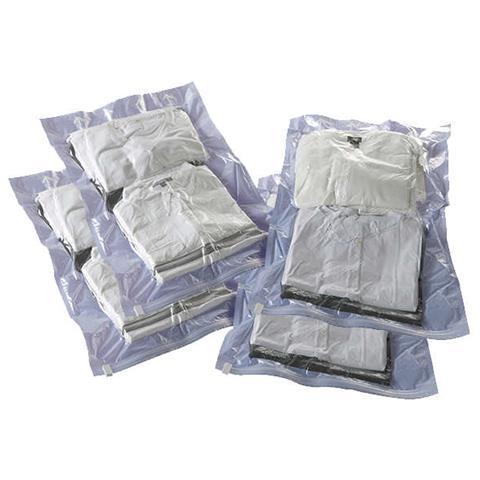 compactor Set Di 4 Sacchetti Da Viaggio Salvaspazio Sottovuoto Roll-up M