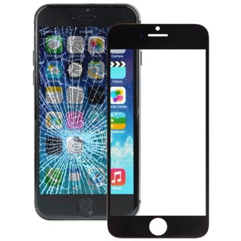 BOMA Schermo Vetro Frontale Ricambio Apple Iphone 6s Plus Con Colla Oca Nero
