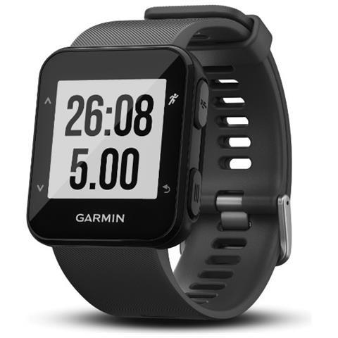 GARMIN Forerunner 30 Impermeabile 5 ATM con GPS Running Watch Colore Nero