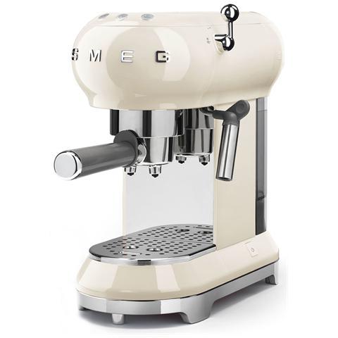 Macchina Caffé Espresso Manuale Capacità Serbatoio 1 Litro Potenza 1350 Watt Colore Crema
