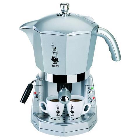 CF40 Mokona Macchina Caffè Espresso Manuale Capacità Serbatoio 1,5 Potenza 1050 Watt Colore Argento