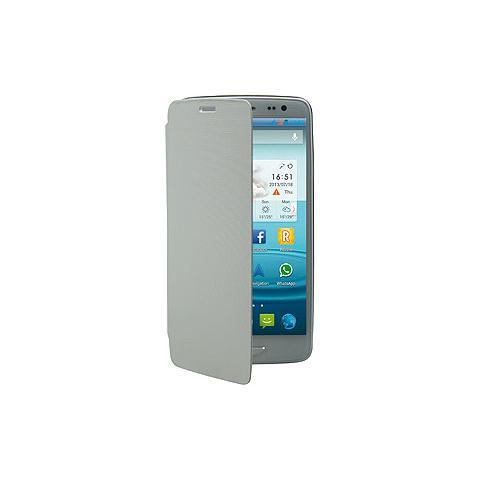 MEDIACOM Custodia Flip per PhonePad Duo S500 Colore Bianco